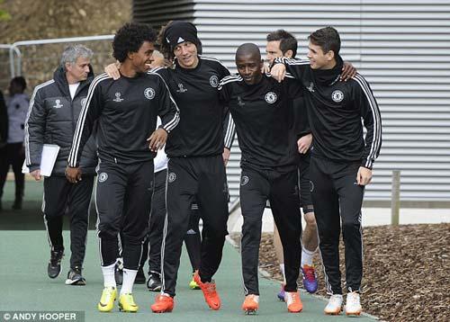 Hàng loạt trụ cột Chelsea trở lại - 4