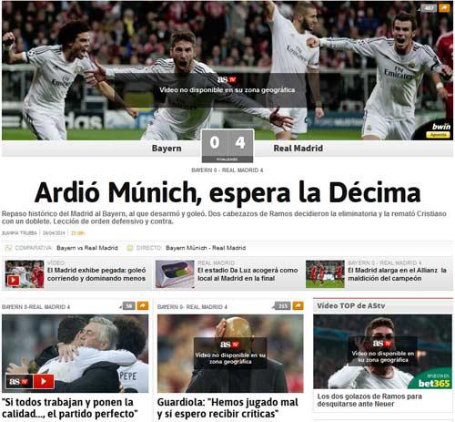 Báo chí Đức: Bayern đã bị làm nhục - 6