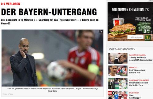 Báo chí Đức: Bayern đã bị làm nhục - 1