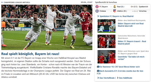 Báo chí Đức: Bayern đã bị làm nhục - 3