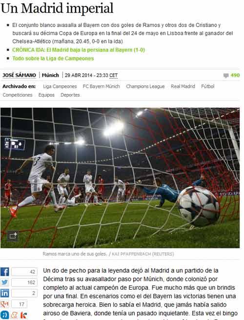 Báo chí Đức: Bayern đã bị làm nhục - 4