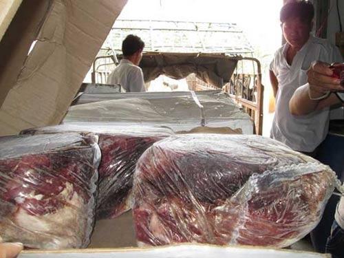 Đường ra bãi rác của 12 tấn thịt bò ngoại - 2