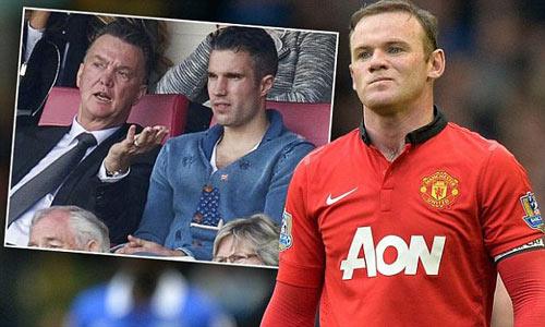 Sợ mất vị thế, Rooney không ủng hộ Van Gaal - 1