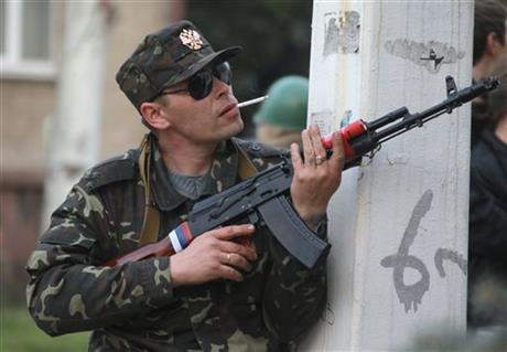 Tổng thống Ukraine thừa nhận không thể kiểm soát miền đông - 1