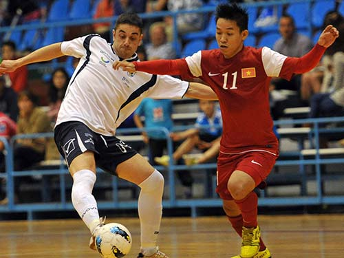 VCK Futsal châu Á: ĐTVN có khởi đầu buồn - 1