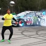 Ô tô - Xe máy - Neymar đá bóng với Ford Fiesta: Trận cầu không tưởng