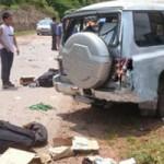 Tin tức trong ngày - Xe lên Điện Biên nổ lốp, 3 cán bộ công an tử nạn