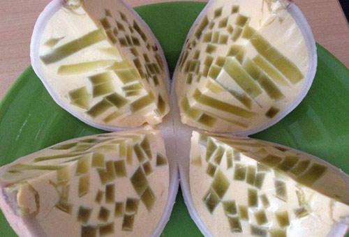 Mê hoặc cả nhà với bánh flan thạch dừa lá dứa - 1