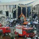 Tin tức trong ngày - Ảnh: Nhà máy giấy thành đống tro tàn sau 10 giờ cháy