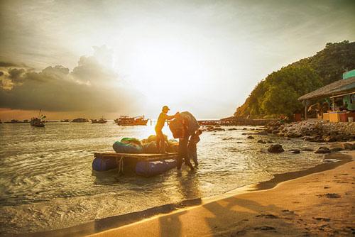 Đẹp mê hồn bãi biển Nam Du - 7