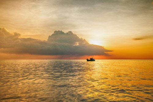Đẹp mê hồn bãi biển Nam Du - 13