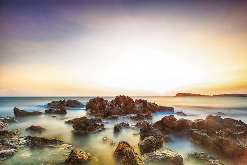 Đẹp mê hồn bãi biển Nam Du - 8