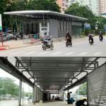 Tin tức trong ngày - Cận cảnh nhà chờ xe buýt tự động đầu tiên ở Hà Nội