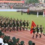 Toàn cảnh lễ diễu binh mừng chiến thắng Điện Biên Phủ