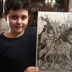 Bạn trẻ - Cuộc sống - Cậu bé 11 tuổi với khả năng vẽ đến khó tin