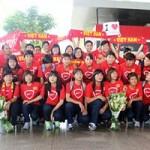 Bóng đá - Về nước, tuyển nữ VN sẵn sàng đua giành vé World Cup