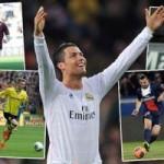 Bóng đá - CR7 đứng đầu 20 cầu thủ hay nhất châu Âu
