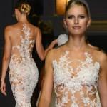 Thời trang - Siêu mẫu Séc quyến rũ khoe 90% cơ thể