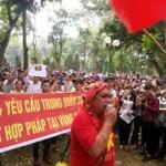 Tin tức trong ngày - Người Hà Nội xuống đường yêu cầu TQ rút giàn khoan khỏi VN