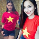 Thời trang - Thời trang yêu nước của các ngôi sao Việt