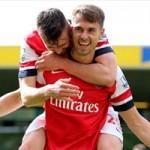"""Bóng đá - Norwich - Arsenal: Ramsey tiễn đưa """"chim hoàng yến"""""""