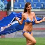 Bóng đá - Fan nữ lao xuống sân quấy rối ở Serie A