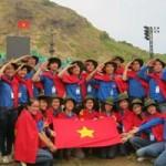 """Bạn trẻ - Cuộc sống - 900 SV xếp hình """"Tự hào biển đảo VN"""" ở Phú Quốc"""