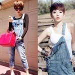 Thời trang - Quần yếm tăng độ cá tính cho hè