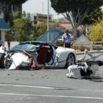 Ô tô - Xe máy - Hyundai Accent đâm nát Ferrari 458, tài xế tử vong