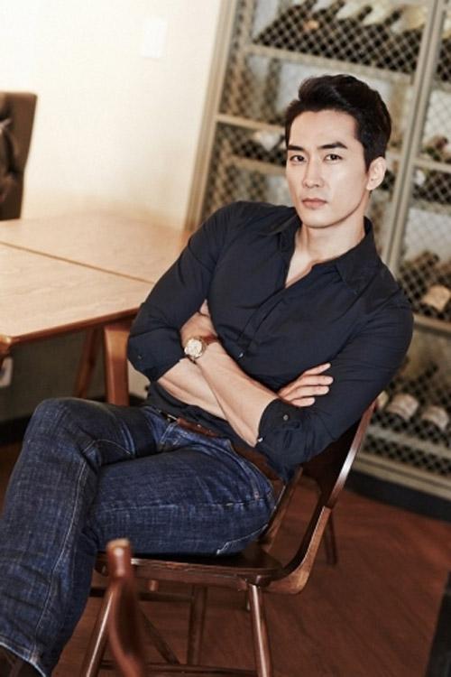 """Song Seung Heon: """"Thỏa mãn khi đóng phim người lớn"""" - 4"""