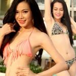 Thời trang - Thí sinh hoa hậu khoe bikini tại Phú Quốc