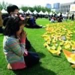 Tin tức trong ngày - Hàn Quốc: Công nhận 3 thủy thủ phà Sewol là liệt sĩ