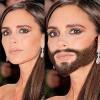 Cười té ghế xem mỹ nhân mọc râu