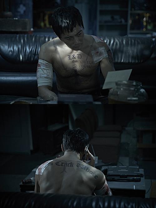 Jang Dong Gun và các tài tử Hàn khoe hình xăm - 1