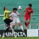 Bóng đá - Pha đánh đầu đẹp như mơ của tuyển nữ Việt Nam