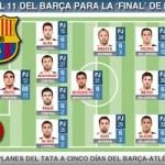 Bóng đá - Tin HOT tối 14/5: Barca lộ đội hình đấu Atletico