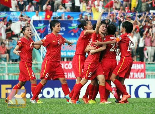 ĐT nữ Việt Nam: World Cup chỉ cách 1 trận đấu - 2