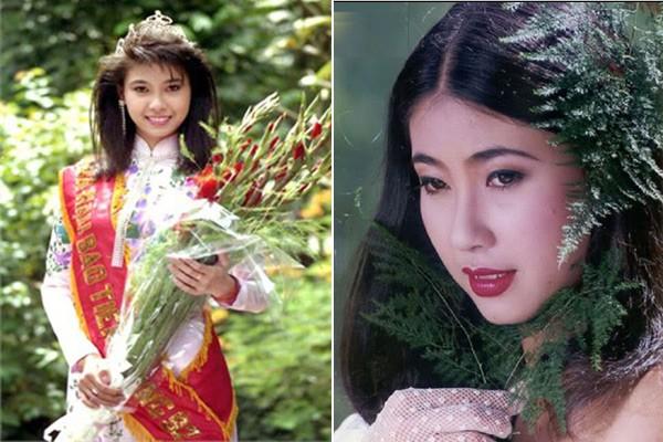 Ngắm hoa hậu Việt ở khoảnh khắc đăng quang - 1
