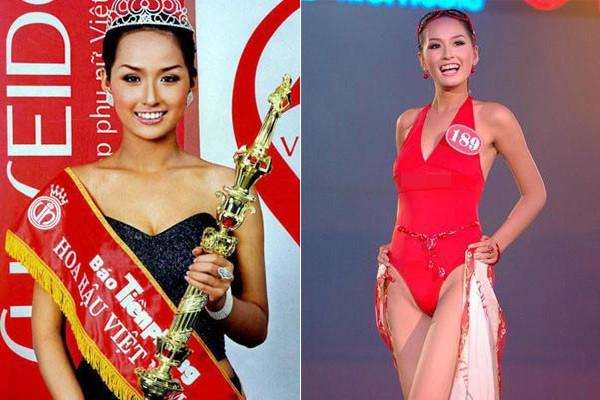 Ngắm hoa hậu Việt ở khoảnh khắc đăng quang - 6