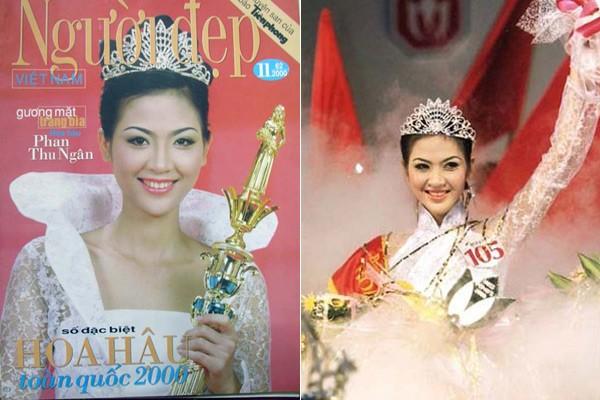 Ngắm hoa hậu Việt ở khoảnh khắc đăng quang - 4