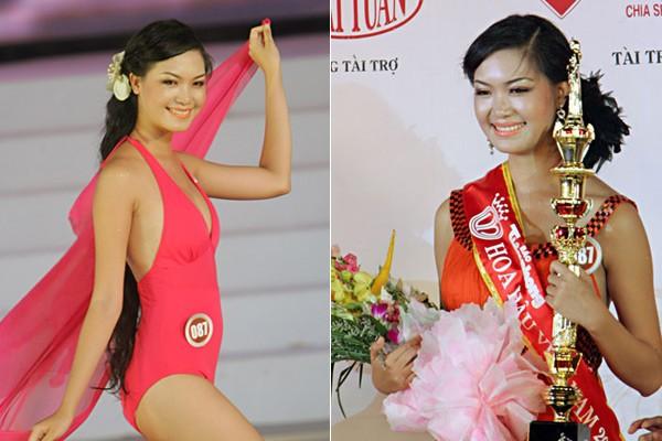 Ngắm hoa hậu Việt ở khoảnh khắc đăng quang - 9
