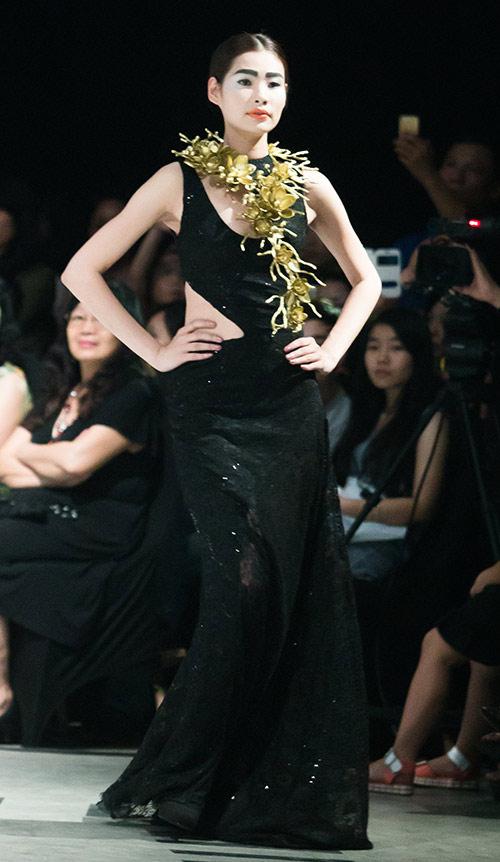 Tùng Dương làm vedette trên sàn diễn thời trang - 14