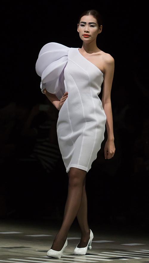 Tùng Dương làm vedette trên sàn diễn thời trang - 5