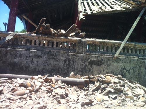 Huế: Một góc Phu Văn Lâu bất ngờ đổ sụp - 4