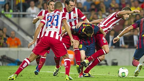 """Atletico công khai kế hoạch """"bắt chết Messi"""" - 1"""
