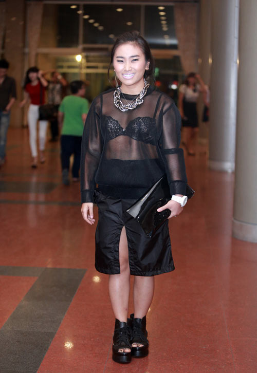 Choáng với phiên bản Lady Gaga xứ Việt - 1