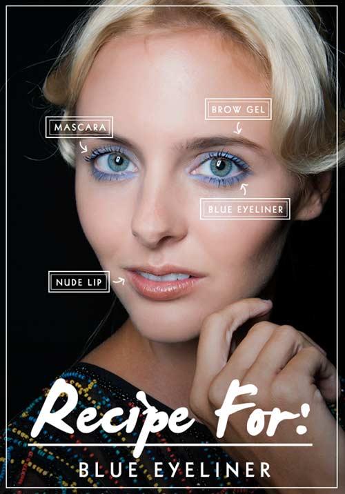 2 cách phối màu cho đôi mắt xanh quyến rũ - 1