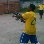 Bóng đá - Điên rồ, bắn súng AK để mừng chiến thắng ở Brazil