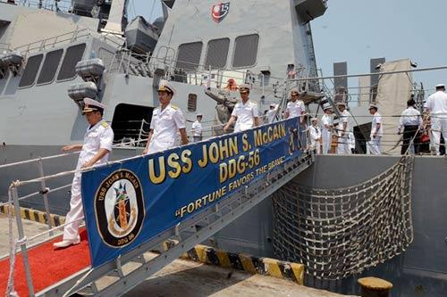 Hải quân Mỹ muốn tăng cường hợp tác với Việt Nam - 2