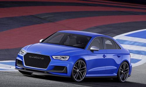 Audi A3 Clubsport Quattro: Mạnh như siêu xe - 1